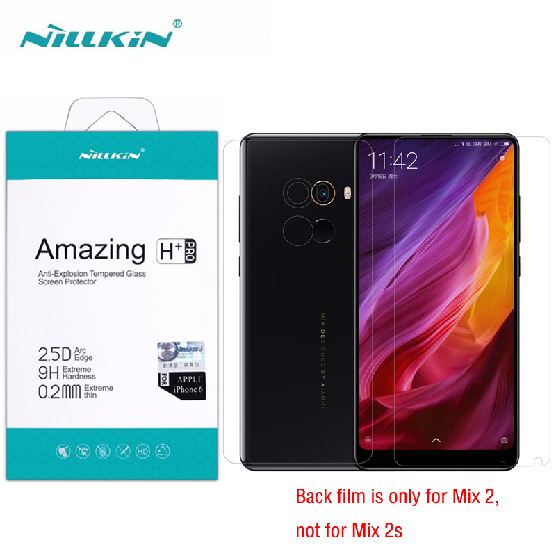 For <font><b>Xiaomi</b></font> <font><b>Mi</b></font> <font><b>Mix</b></font> <font><b>2</b></font> <font><b>Mix</b></font> 2S Tempered Glass Nillkin Amazing H+Pro <font><b>Screen</b></font> <font><b>Protector</b></font> for <font><b>Xiaomi</b></font> <font><b>Mi</b></font> Mix2s Pro Prime Protective Film image