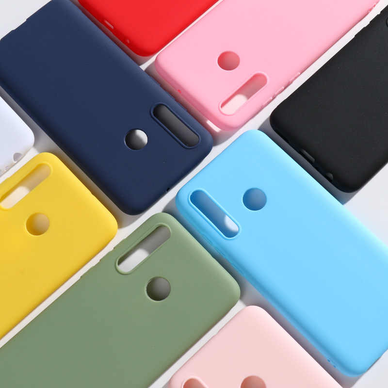 Kẹo Dẻo Silicone Dành Cho Huawei P Smart Plus 2019 Couqe Huawei P Smart Plus PSmart + Nova 4 Lite ốp lưng Mềm TPU Bao Bọc Điện Thoại