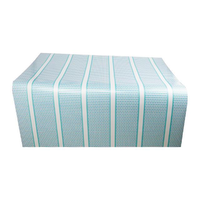 Blue Dot Printed Tablecloth