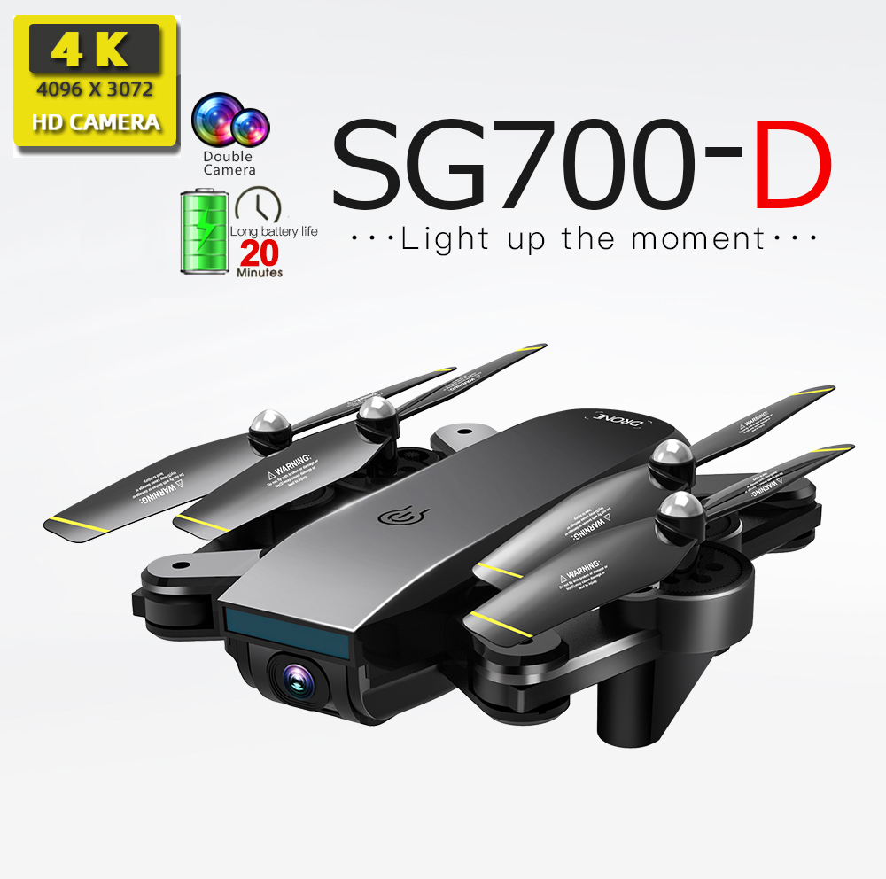 SG700-D drones with camera hd mini drone rc helicopter 4k dron toys quadcopter profissional drohne com camera quadrocopter SG700 image
