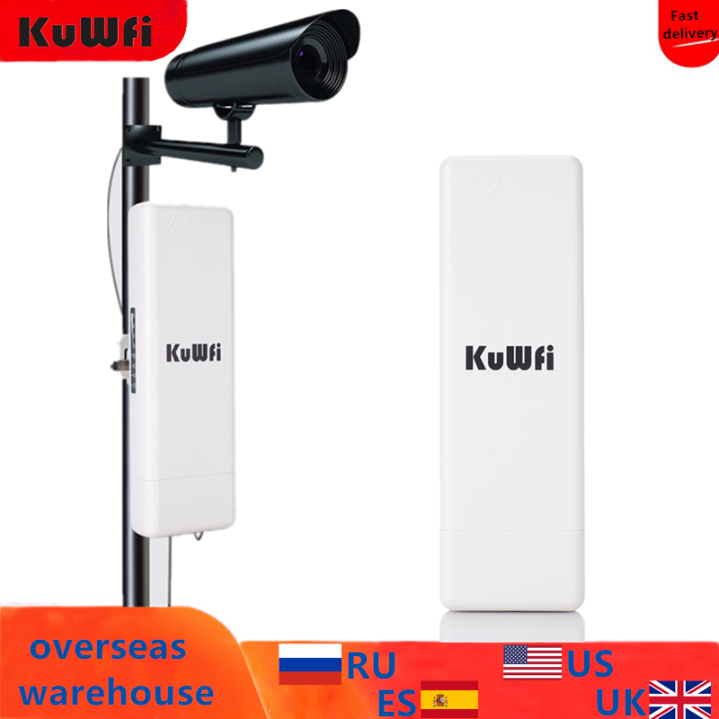 2Km Long Range Wireless Outdoor CPE WIFI Router 2.4Ghz 150Mbps WIFI Repeater Extender Outdoor AP Router AP Bridge Client Router