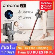 Nouveau Dreame V11 aspirateur à main sans fil maison balayage 25000Pa cyclone aspiration Multi fonctionnel brosse dépoussiéreur