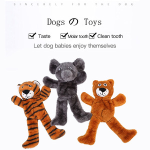 Durability Chew Molar Toy Fit For All Pets Cute Pet Dog Cat Plush Squeak Sound Dog Toys Funny Fleece Duck Home Dog Accessories