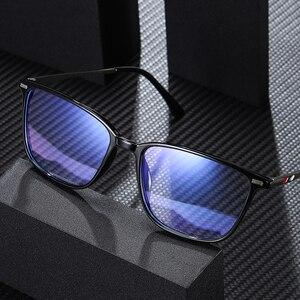 Image 3 - כחול אור חסימת משקפיים ברור מחשב משחקי עבודה אנטי כחול אור משקפיים נשים גברים משקפיים