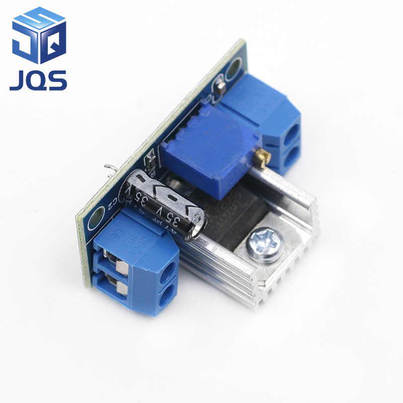 LM317 convertidor de DC-DC Módulo de placa de circuito reductor regulador lineal LM317 regulador de tensión regulable fuente de alimentación