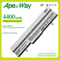 Apexway Laptop Batterie Weiß 4400mAh Für Asus Eee PC 1005 1001P 1001HA 1101HA AL31 1005 AL32 1005 ML32 1005 PL32 1005 Laptop-Akkus Computer und Büro -