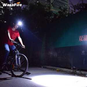 Image 5 - Ultra parlak 5000 lümen LED far XM L2 U2 su geçirmez şarj edilebilir far Frontal el feneri zumlanabilir kafa lambası Torch