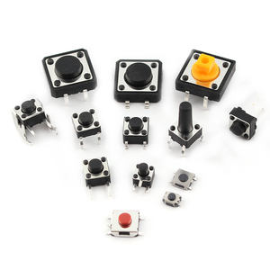 Image 3 - 125pcs/lot touch switch/Micro Switch /push buttons switches 25 Types Assorted kit 2*4/3*6/4*4/6*6 for DIY Tool package