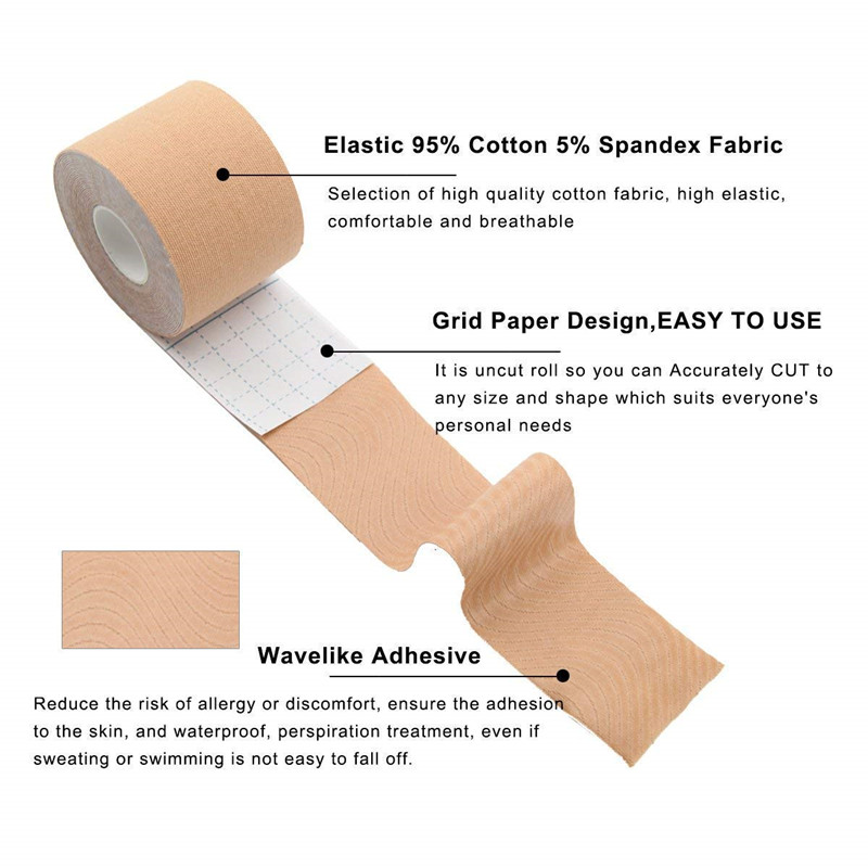 Dropshipping 5M Body Invisible Bra Women Boob Tape Nipple Cover DIY Breast Lift Tape Push Up Sticky Bra Lift Up Boob Tape 1 Roll