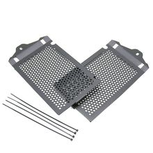 2pcs Black Radiator Guard Protector Grille Grill Cover for R1200GS Adventure