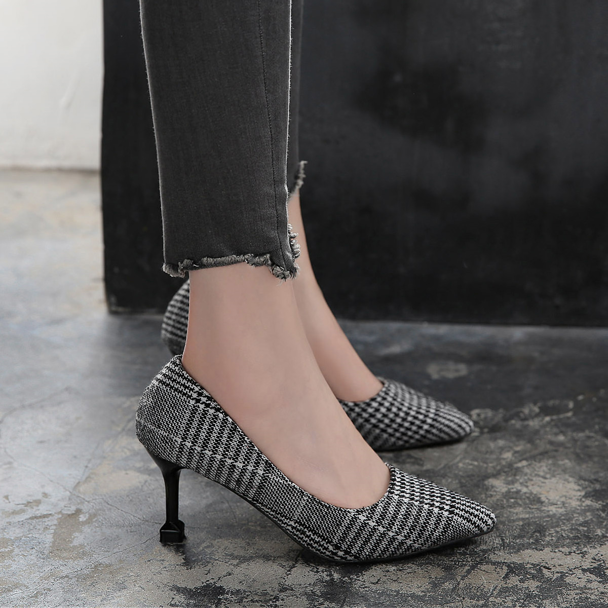 Office Shoes Women New Arrival 2019 Women Pumps Evening Shoes Sexy High Heels Luxury Shoes Women Designers Fetish High Heels