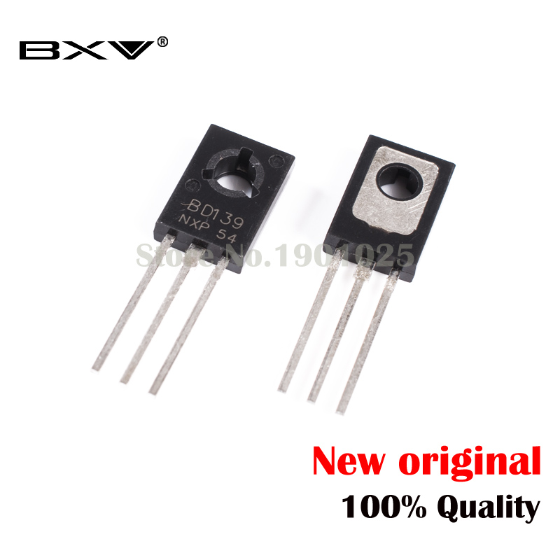 20PCS BD139 BD140 ( 10PCS BD139 + 10PCS BD140 ) TO126 TO-126 New Voltage Regulator IC In Stock