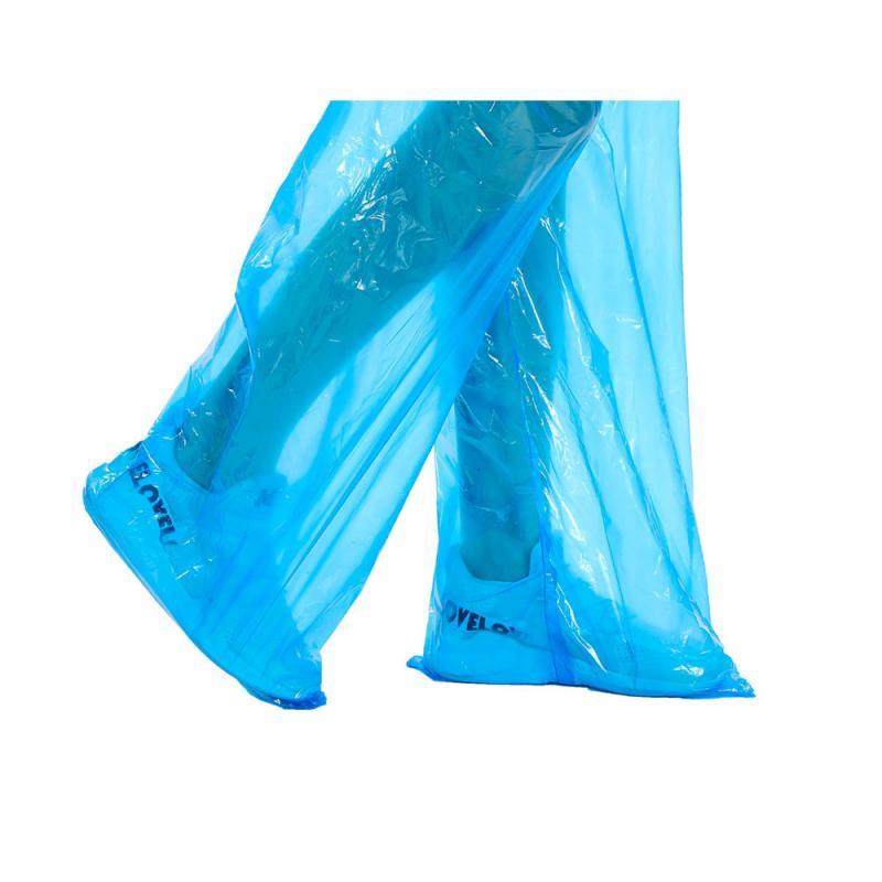 1/5/10/20/30pcs Disposable Split Raincoat Rain Pants Suit Dustproof Waterproof Anti-dirty Disposable Full Protective Raincoat 10