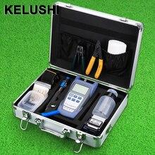 KELUSHI FTTH Φ с оптоволоконным измерителем мощности и визуальным локатором неисправностей и кабелем резак для зачистки