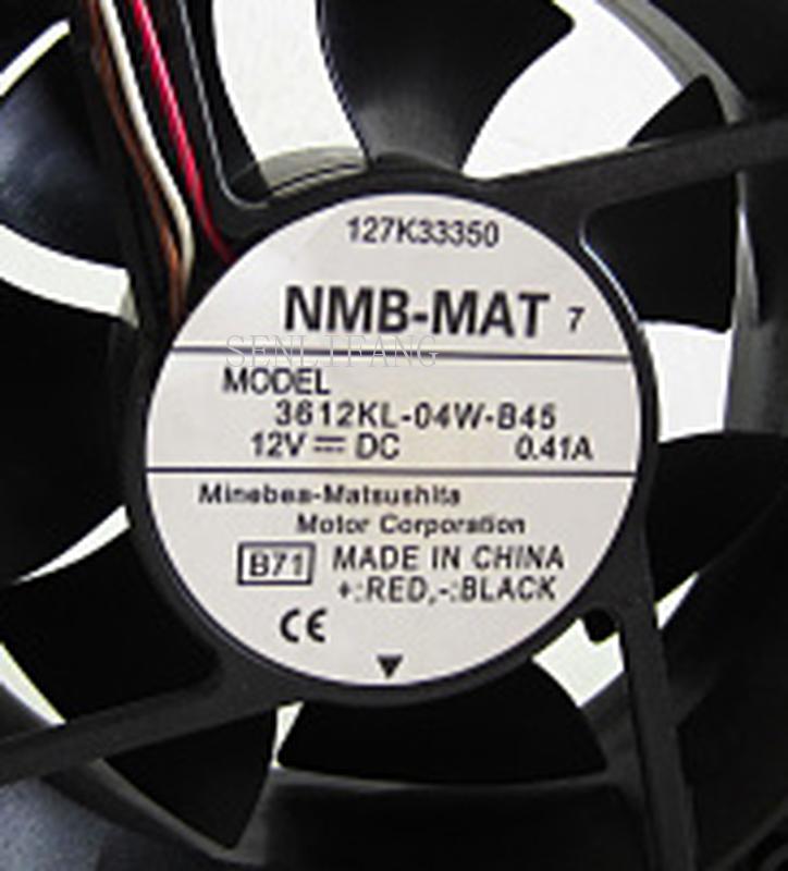Livraison gratuite l'original 9cm9032 12V 0.41A 3612KL-04W-B45 92*92*32MM quatre lignes copieur ventilateur de refroidissement
