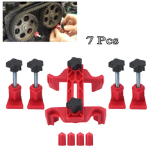 Car Dual Cam Clamp Camshaft Universal Gear Engine Timing Locking Tool Sprocket Gear Fixing Kit For Auto cam engines Repair