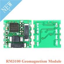 PNI RM3100 وحدة استشعار مغناطيسي ثلاثي المحاور مستشعر المجال المغناطيسي SPI واجهة عالية الدقة 13156 13104 13101