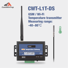CWT-L1T-DS Wireless Gsm 3g 4g Wifi Ds18b20 Temperature Sensor Alarm Transmitter
