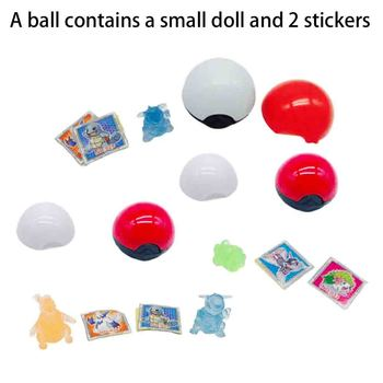Tomy Different Pokemon Figures Model Collectio 2-3cm Pokemon Elf Ball Anime Figure Toys Dolls Child Birthday Gift image