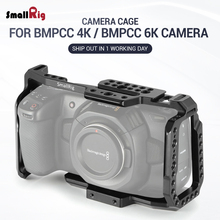 Jaula SmallRig para cámara de cine de bolsillo de diseño Blackmagic 4K BMPCC 4 K/BMPCC 6K con agujeros de rosca de carril NATO para Opción de bricolaje 2203B