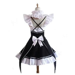 Image 2 - Ram/Rem Cosplay Re:zero Kara Hajimeru Isekai Seikatsu Re Life In a Different World Kawaii Costume Halloween Maid Servant Dress