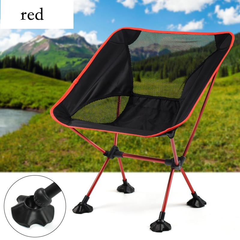 Folding Moon Chair Aluminum Alloy Camping Beach Outdoor Beach Chair