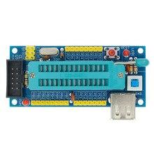 Atmega8 atmega48 atmega88 placa de desenvolvimento avr (sem chip) kit diy mini placa de desenvolvimento do sistema mínimo