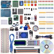 Mais novo rfid starter kit versão atualizada com caixa de varejo para arduino r3 aprendizagem starter