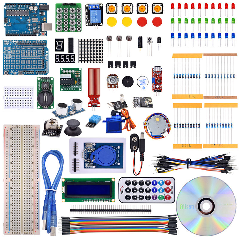 Newest Rfid Starter Kit Upgraded Version With Retail Box For Arduino R3 Learning Starter