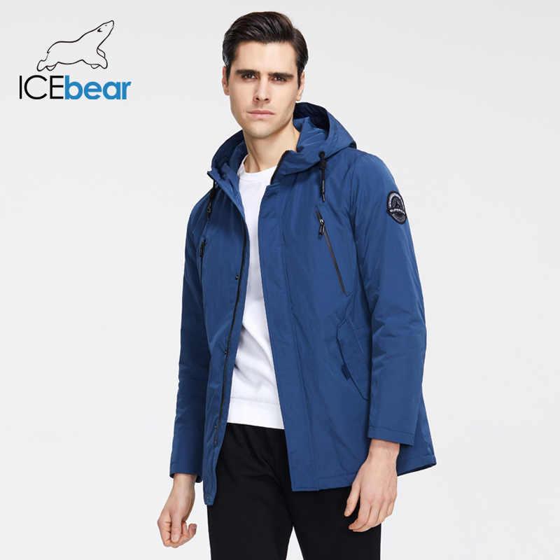 ICEbear 2020 Neue Männer der Jacke Qualität männer Jacke Männliche Mit Kapuze Mantel Casual Männer Kleidung MWC20823I