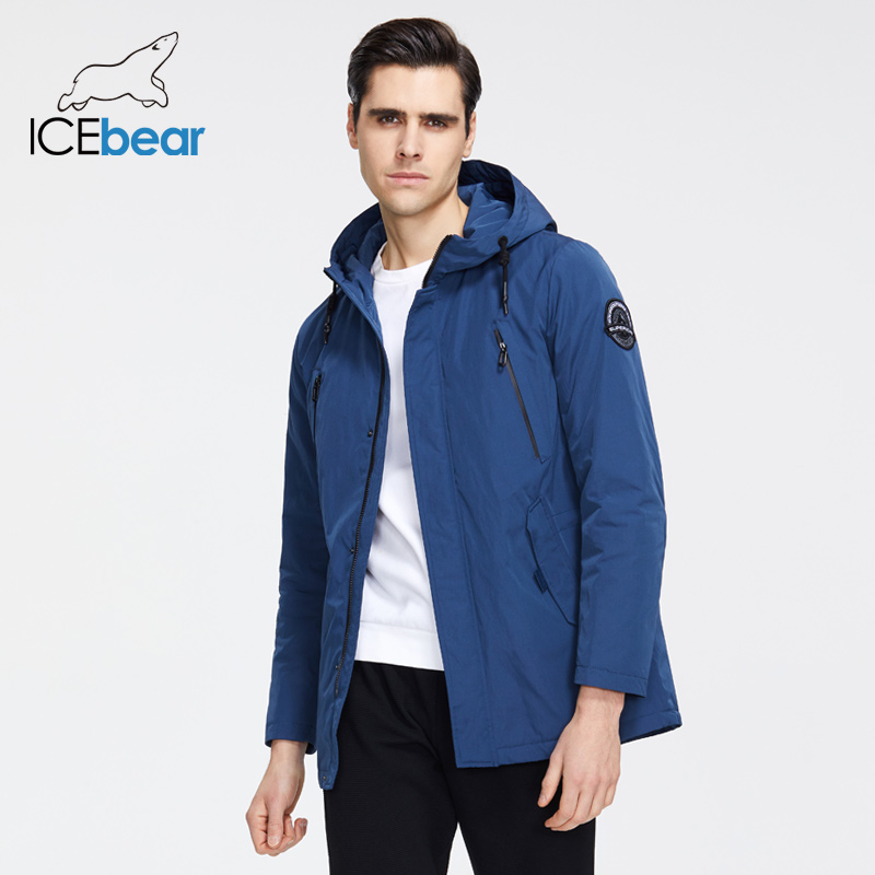 ICEbear 2020 New Men's Jacket Quality Men's Jacket Male Hooded Coat Casual Men Clothing MWC20823I title=