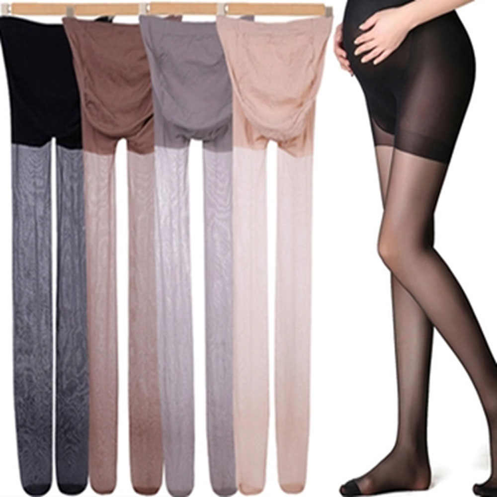 Adjustable Maternity Leggings Pregnancy Clothes Maternity Pants Summer Pregnant Women Pantyhose Stockings одежда для беременных