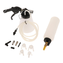 AUTO CAR VAN BRAKE & CLUTCH FLUID BLEEDING KIT PNEUMATIC VACUUM BLEEDER TOOL