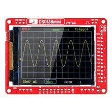 JYE Tech DSO138 13805K мини цифровой осциллограф DIY Kit SMD части предварительно припаянный электронный Обучающий набор осциллографы