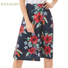 Kate Kasin Women's Vintage Style High Waist Flared