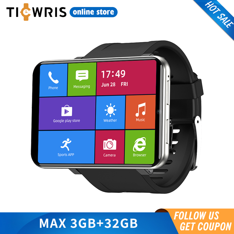 2020 New Ticwris Max 4G Android Watch 2.86