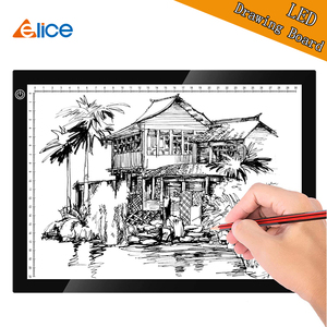 A4 Graphic Tablet LED Light pa