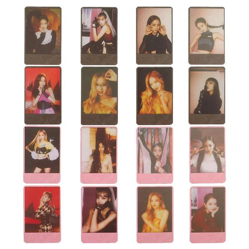 8 cái/bộ KPOP BLACKPINK Album Tự Làm Giấy Lomo Card Thẻ Hình Ảnh Poster Photocard Người Hâm Mộ Bộ Sưu Tập Quà Tặng Đồ