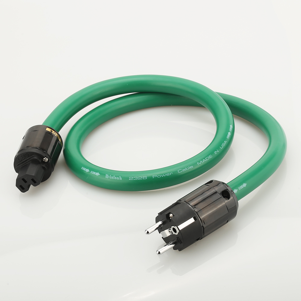 1-2M Hifi audio 5N copper silver mixing <font><b>Mcintosh</b></font> <font><b>2328</b></font> Hifi power cable EU AC Power Cord p-004E +C-004 power connector for HIfi image