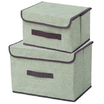LOAAO foldable storage box home organizer Box bins bra underwear necktie socks storage organizer