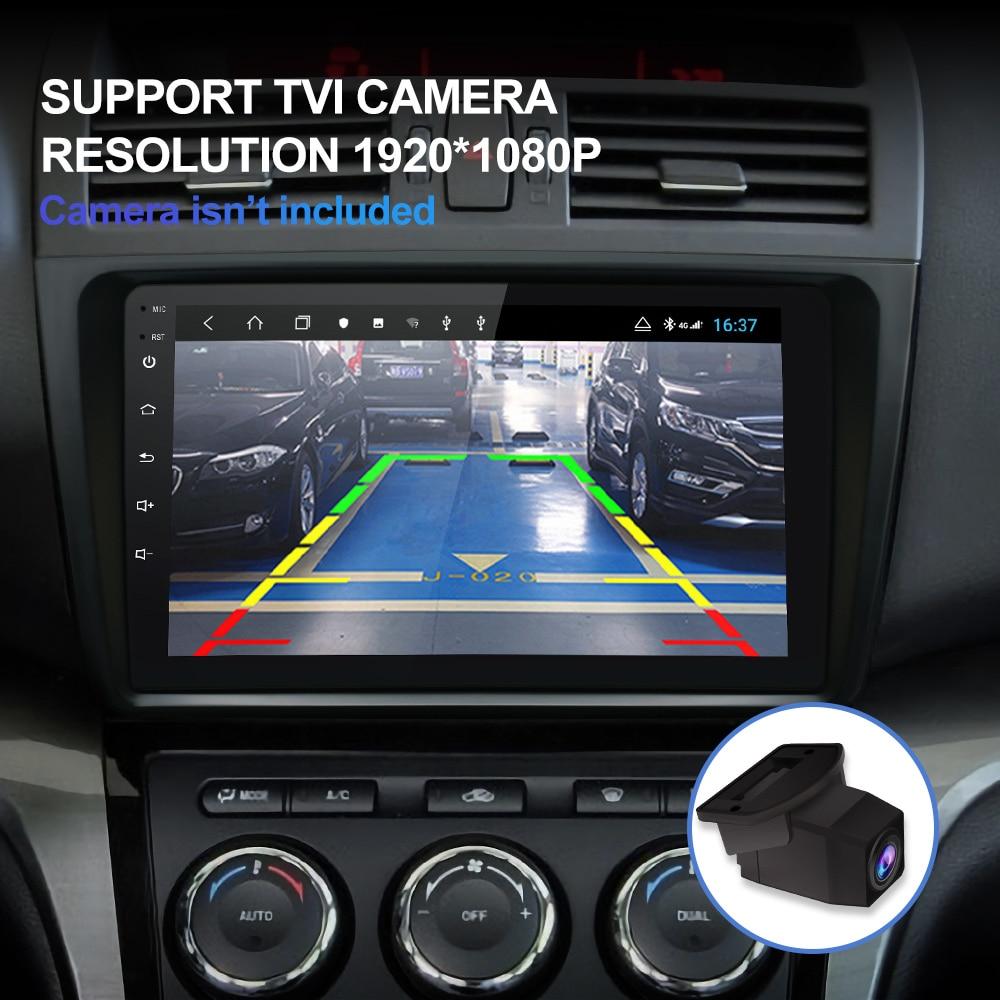 Isudar H53 4G Android 1 Din Авто Радио для Mazda 6 2 3 GH 2007 2012 Автомобильный мультимедийный gps 8 ядерный ram 4 Гб rom 64 Гб Камера DVR DSP - 2