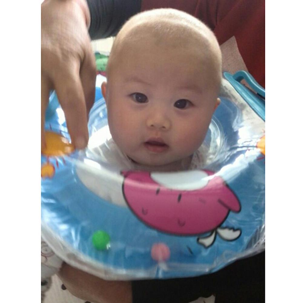 Bébé natation cou anneau Tube sécurité infantile bain flotteur cercle été gonflable eau flottant boisson support de verre accessoires |