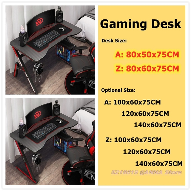 Gaming Desk Table 80x50x75cm  2