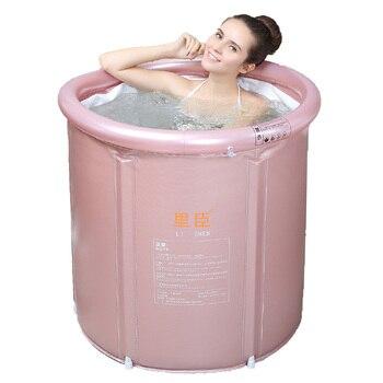 Stacked Bathtub Adult Bathtub Inflatable Bathtub Thickened Plastic Bathtub