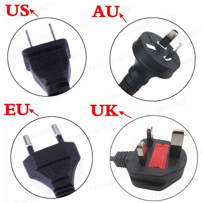 TANGSPOWER 54.6V 3A ładowarka akumulatorów litowych 54.6V3A elektryczna ładowarka rowerowa do 13S 48V akumulator litowo-jonowy ładowarka wysokiej jakości