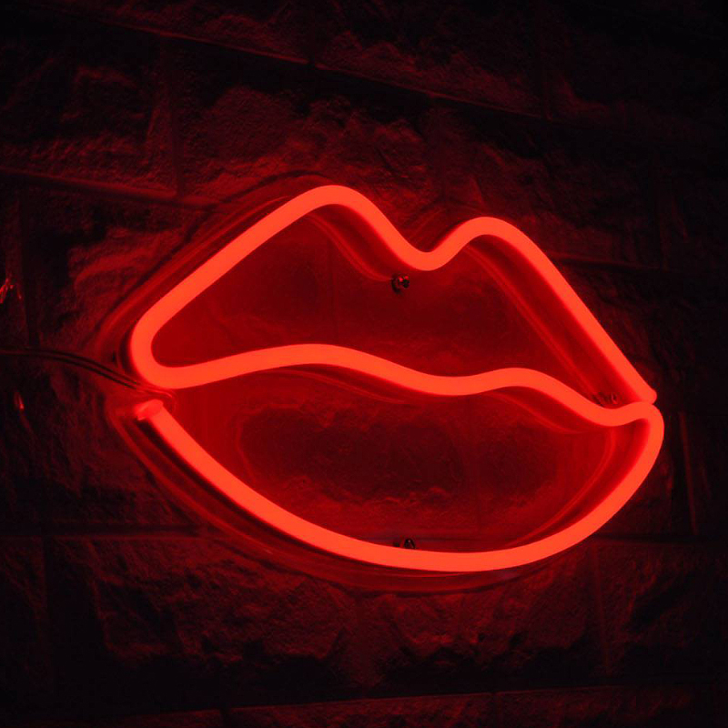 Custom LED neon light party wedding home decoration lamp creativity and personality Valentine's day night light gift signboard image