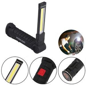 Image 5 - Sạc USB Đèn LED Làm Đèn Di Động Từ COB Treo Móc Thợ Cơ Khí Sửa Chữa Ô Tô Đèn LED Kiêm Đèn Pin