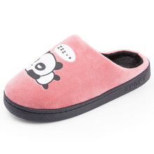 Hot Sale Winter Warm Ful Cotton Sheep Slippers Women Footwear Male Indoor Plush Comfortable Slippers Fashion New Big Size 2019(China)
