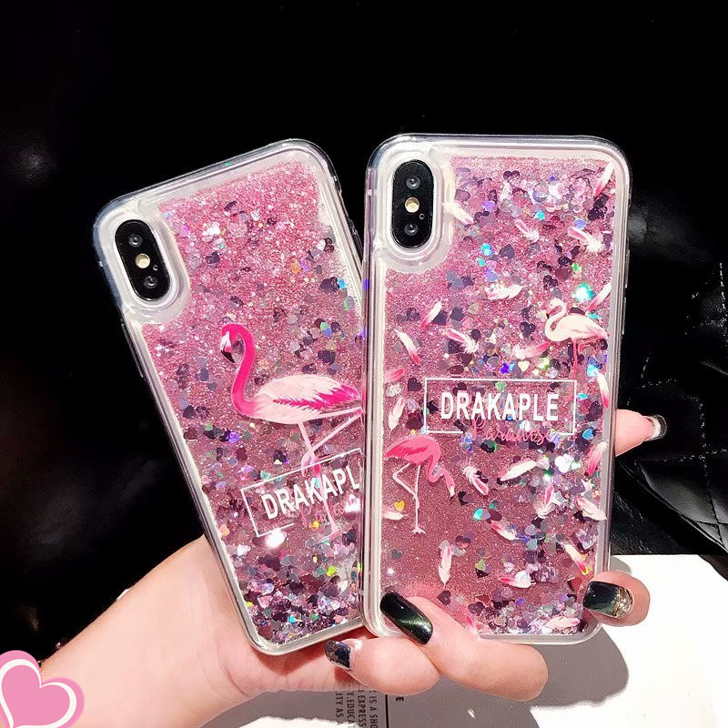 Quicksand Case for Samsung galaxy A3 A5 A7 2017 J1 J3 J5 J7 2016 J2 J5 Prime J2 Core Note 3 4 5 Glitter Dynamic Liquid Cover image