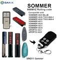 Совместимый SOMMER дистанционный передатчик команды гаража прокатки код 868 МГц, для гаражной двери открывалка дистанционного управления